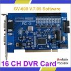 GV-600 V7.05 GV DVR Card 16 channels, GV600 (Version 7.05) CCTV DVR Card