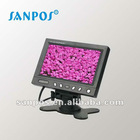 "5.8""Car Digital TFT LCD Stand Alone monitor with headrest mount frame"