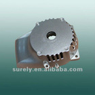 Aluminum die casting side cover for grass trimmer/grass trimmer parts/lawn mower parts