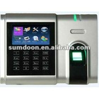 3inch TFT & touch LCD High speed & veracity & large capacity fingerprint & RFID & password Attendance terminal ZTC19