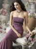 2012 Newest Style Long Purple Prom Dress