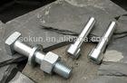 grade 4.8 Zinc Plated square head bolt