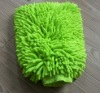 Double side Chenille Car Cleaning glove
