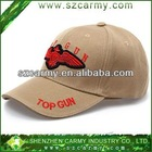 New U.S. Air Force TOPGUN Applique Outdoor Cap