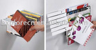 design invisible book shelf