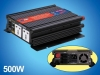power inverter,inverter,500W DC/AC Power Inverter With Charger, Power Inverter With Charger, Modified Sine Wave Inverter