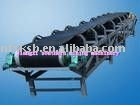 Rubber mobile belt conveyor