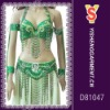 Belly dancing costume set, fashionable and sexy costume