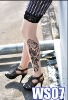 wholesale fashion sexy printed spandex legs stockings tattoo (have in stock ,can paypal)