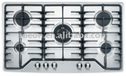 5 burner gas hob 905AH (cast iron pan stand )