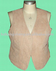100% GUARANTEED SOFT GOAT SUEDE LEATHER VEST,GOAT SUEDE LEATHER GARMENT
