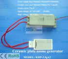 3.5 g/h Ceramic Plate O3 Generator for Air Purification