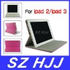 For iPad 2 3 Universal Magnetic Stand PU Leather Case