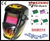 Solar cell & Lithium batteries Auto darkening Welding Mask