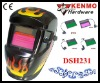 Solar cell & Lithium batteries Auto darkening Welding Mask