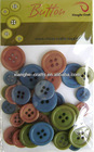 vintage plastic button for Hobby