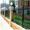 decorative iron fence house fence