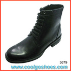 Newest horsehair men ankle formal boots with iron cap toe supplier in Guangzhou China