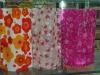 Reuseable flat foldable PVC vase