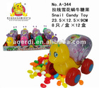 Snail suprise candy toys