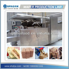 Complete Full Automatic Wafer Biscuit Making Plant