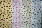 PRINTED FLOWER FABRIC T/C 80/20 110X76
