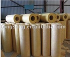 rock wool board and pipe and blanket