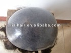Injected PU skin toupee hair replacement