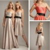 short elegant bridesmaid dress