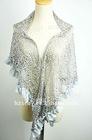 fashion lady lace triangle shawl