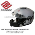 New ABS material modular helmet with ECE R22.05 approved FS-503