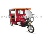60v motor YFR1-3 Electric passenger tricycle