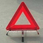 Road Reflective Warning Triangle Sign, Safety Warning Sign