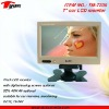 TM-7200 7inch car lcd headrest Stand alone reversing monitor