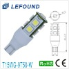 T15 Wedge 9SMD 5050 LED Automobile lamp