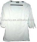 2012 newest Lady's fashion 1/2 sleeves T-Shirts