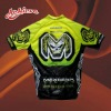 sublimation short sleeved polyester cycling shirt jersey