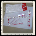 promotional 4 pieces plastic ruler set