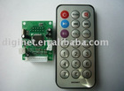 manufactory price mp3 motherboard with remote dth card