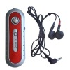 FM auto scan radio with stereo earphone