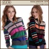 Pure Cashmere Zip Cardigan sweater of women apparel