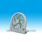 Solar12V rechargeable fan CE-12V10Q