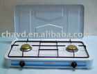 table double burner gas stove(gas cooker,european gas stove)