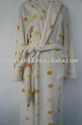 Fashionable,lady's printed bathrobe