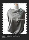 Ladies Fashion 100% Silk Polyester Long Blouse