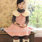 Autumn 2012 100% cotton dress for kids,girl dress