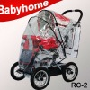 CE certificate high quality stroller rain cover