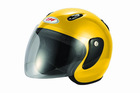 Open Face Helmet(bright yellow)