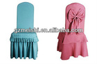 luxuriant chair cover in banquet or wedding party