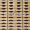 wood mosaic tile solid wood mosaic LIREN-402